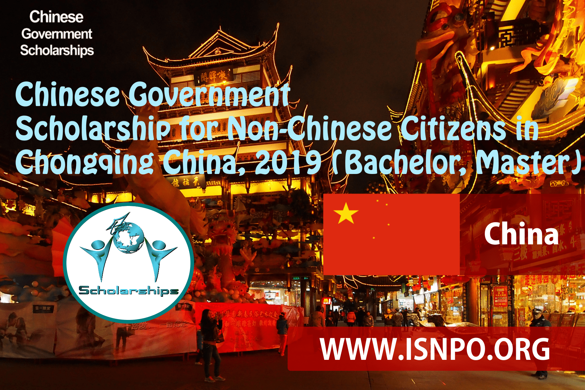 Chinese Federal Government Scholarship for Non.