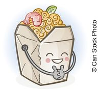 Chinese food boxes Vector Clipart Royalty Free. 1,752 Chinese food.