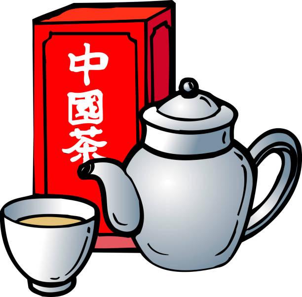 Tea, Drink, Illustration, Teacup, Product, Cup, Line, Graphics, Font.