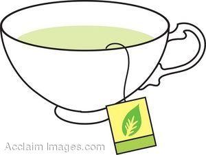 Tea Cup Clip Art.