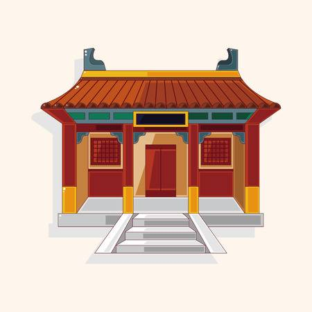 6,126 Chinese Temple Cliparts, Stock Vector And Royalty Free Chinese.