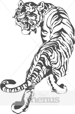 Chinese Tiger Clipart.