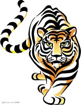 Chinese tiger clipart 5 » Clipart Portal.