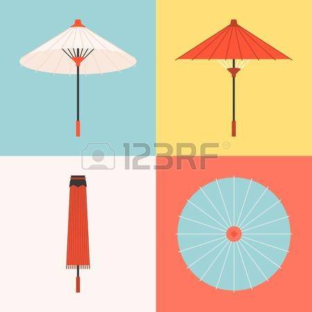 305 Chinese Umbrella Stock Vector Illustration And Royalty Free.