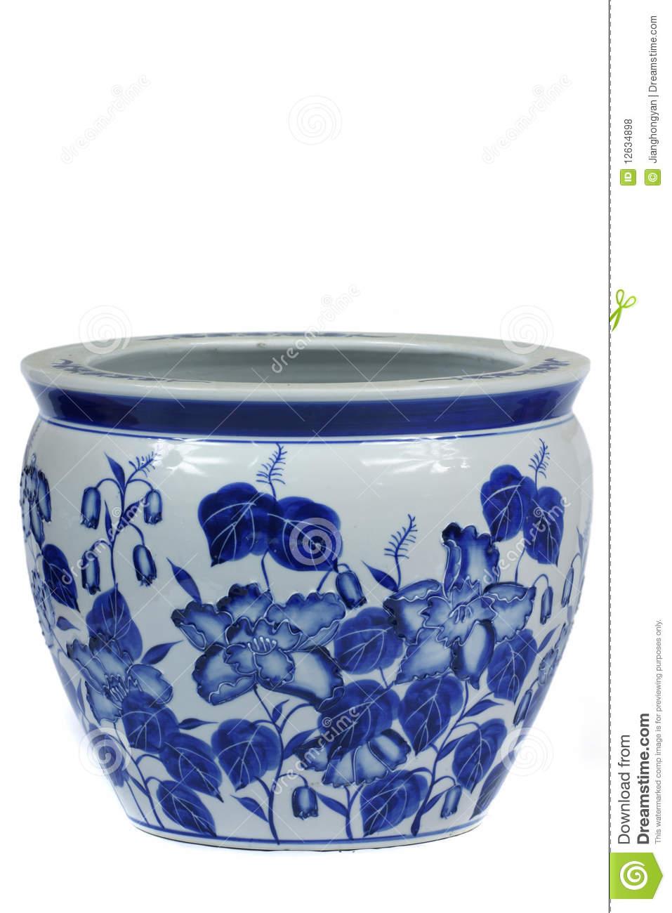 Chinese Porcelain Vase Royalty Free Stock Photos.