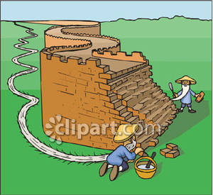 Great Wall Of China Clip Art.