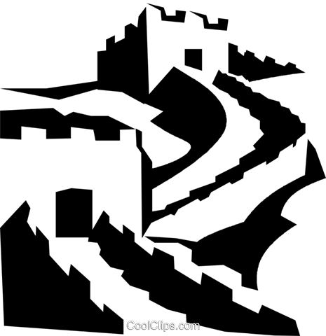 Great wall clipart #9