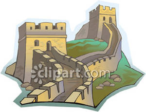 Great Wall Clipart.