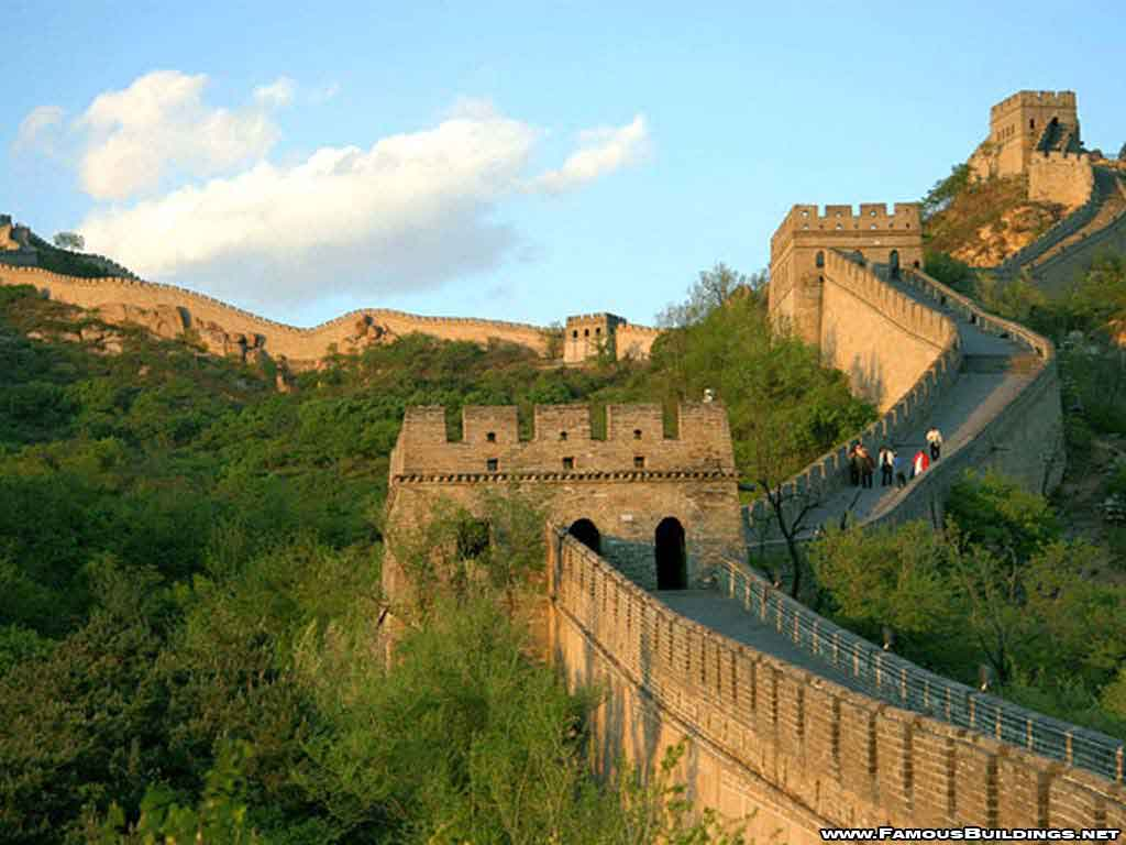 Great Wall of China Clipart.