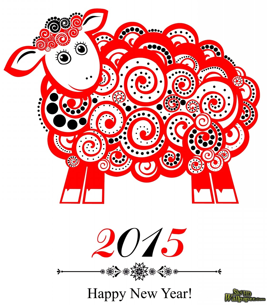Chinese new year clipart 2015.