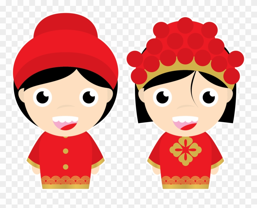 Vector Image Chinese Wedding Clipart (#1980684).