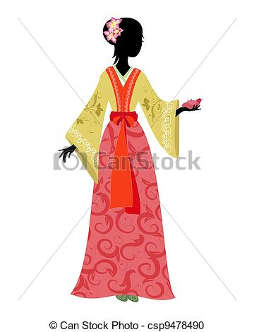 Chinese woman Vector Clipart Royalty Free. 2,466 Chinese woman.