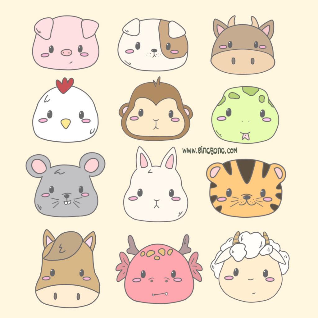 Animal Chinese Zodiac.