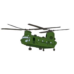 Chinook 2 clipart, cliparts of Chinook 2 free download (wmf, eps.