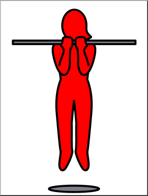 Clip Art: Simple Exercise: Chin.