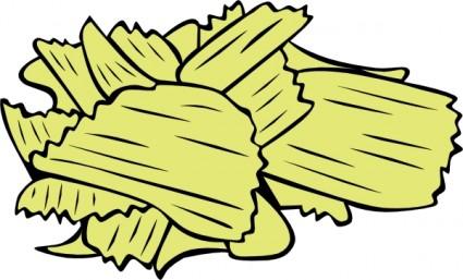 Potato Chips Clip Art Download.