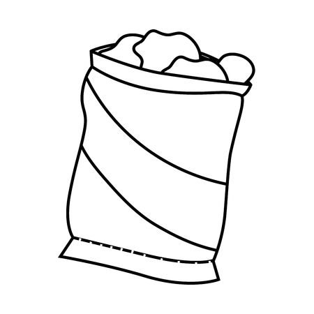 838 Potato Chips Bag Stock Illustrations, Cliparts And Royalty Free.