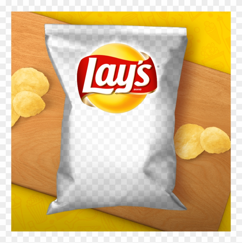 Lays Potato Chip Bag Template, HD Png Download.