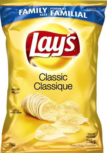LAY'S CLASSIC® Potato Chips.
