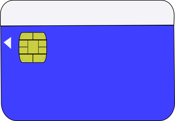 Smart Card Clip Art at Clker.com.