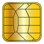 Stock Illustrations of creditcard chip k3523230.