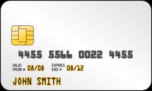 Smart Card Generic Clip Art at Clker.com.