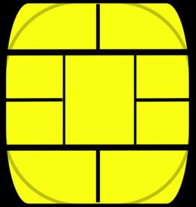 Smart Card (chip Only) Clip Art at Clker.com.