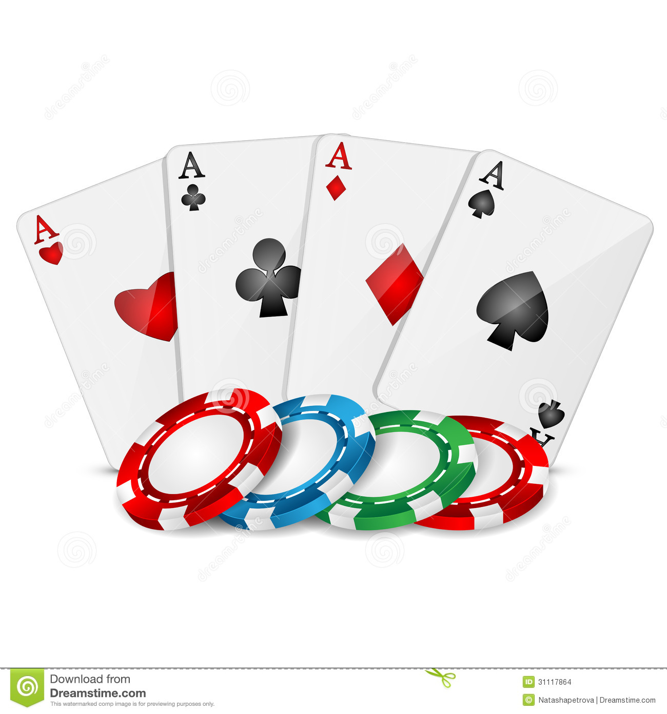 Poker Cards Clipart.