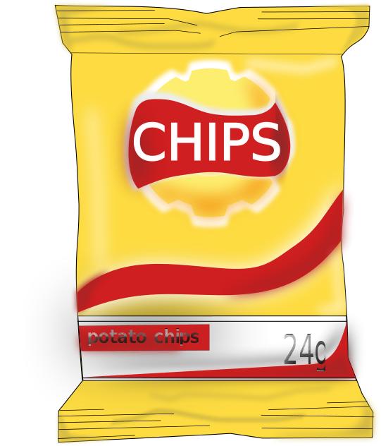 Free Potato Chip Clipart, 1 page of Public Domain Clip Art.
