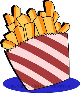 Chips Clipart.