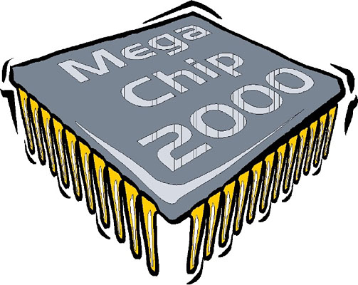 Computer Chip Clipart.