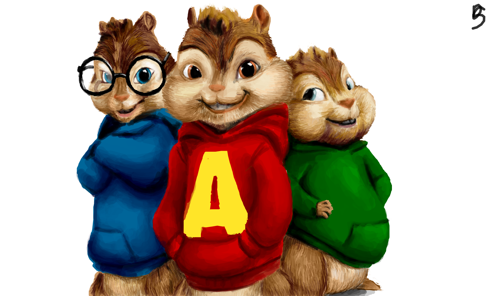 Alvin and the Chipmunks » drawings » SketchPort.