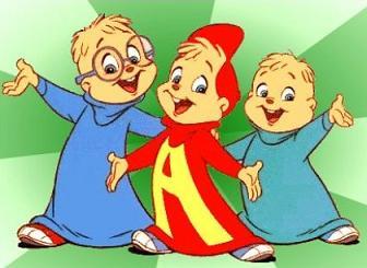 Free Alvin the Chipmunk Clipart.