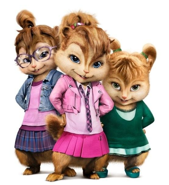 The chipettes clipart.