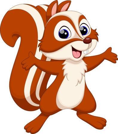Chipmunk clipart squirrel.