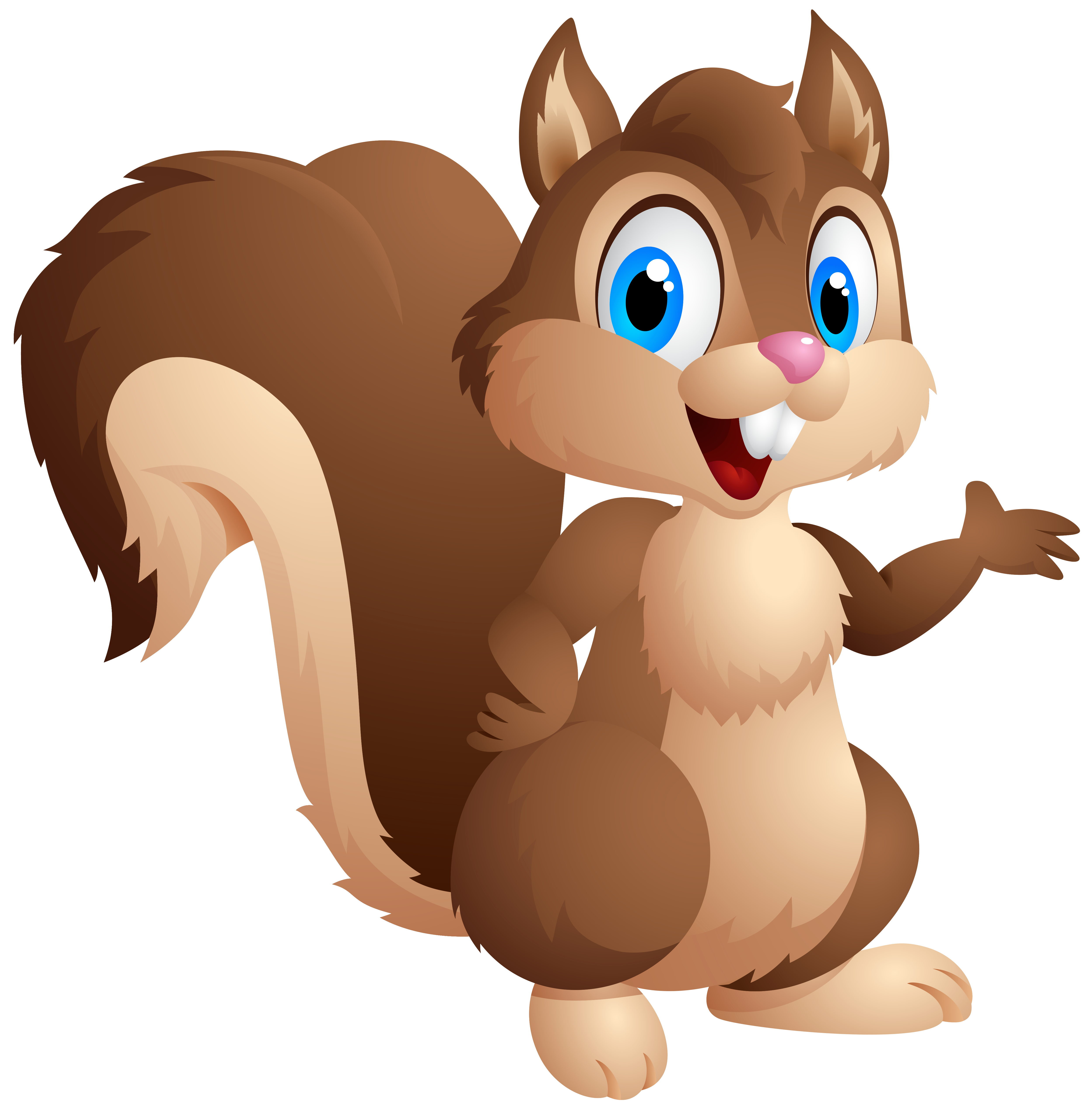 clipart of squirrels #17