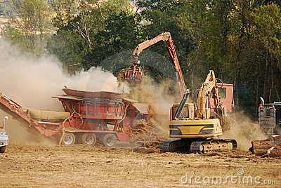 Wood Chipper Stock Photography Image 35590452.