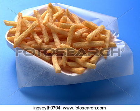 Stock Photo of chip, chips, chippy, take away, potato, fries, food.