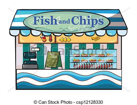 Chip shop clipart.