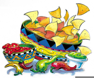 Free Chips Salsa Clipart.