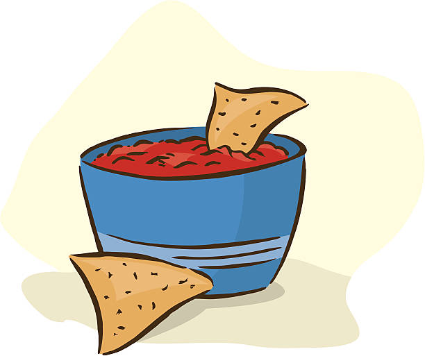 Best Chips And Salsa Illustrations, Royalty.