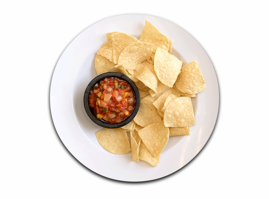Corn Tortilla Chips Served With Our Tropical Salsa.