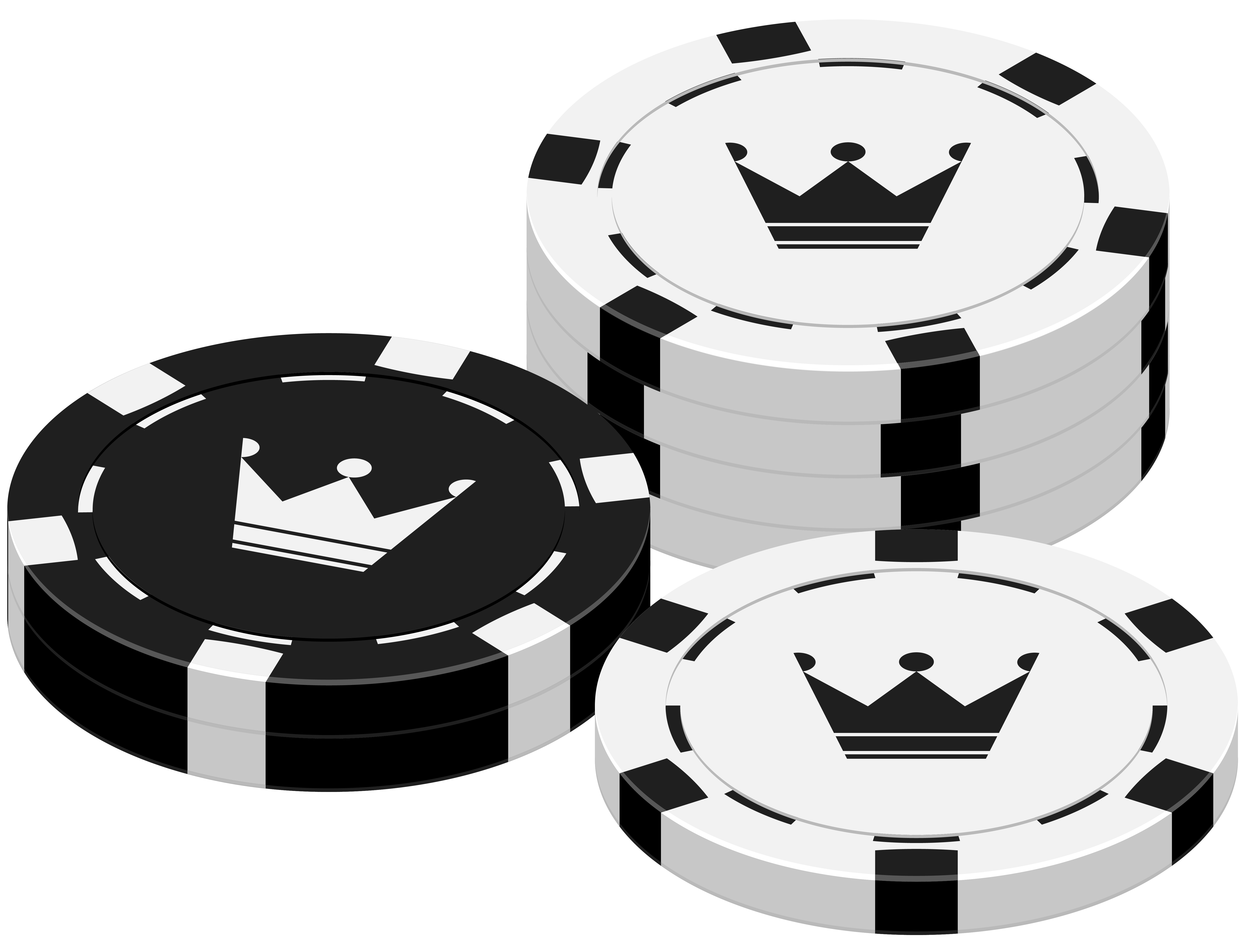 Casino Chips PNG Clipart.