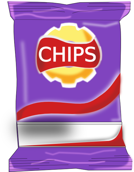 Chips Packet Clip Art at Clker.com.