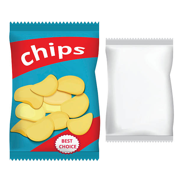 Best Potato Chips Illustrations, Royalty.