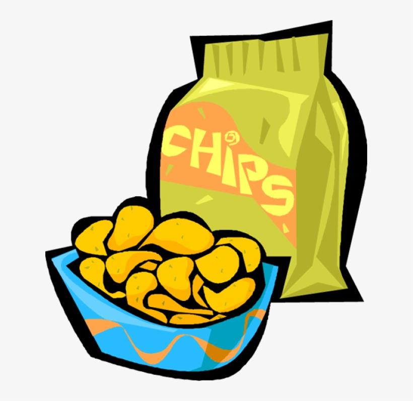 Potato Chips Clipart.
