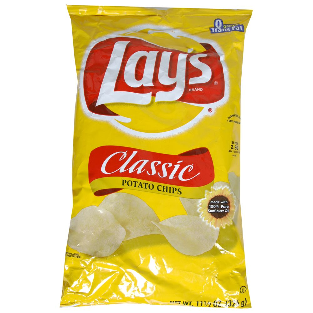 Lays chips clipart.