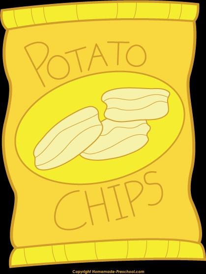 Clip Art Potato Chips Clipart#2014521.