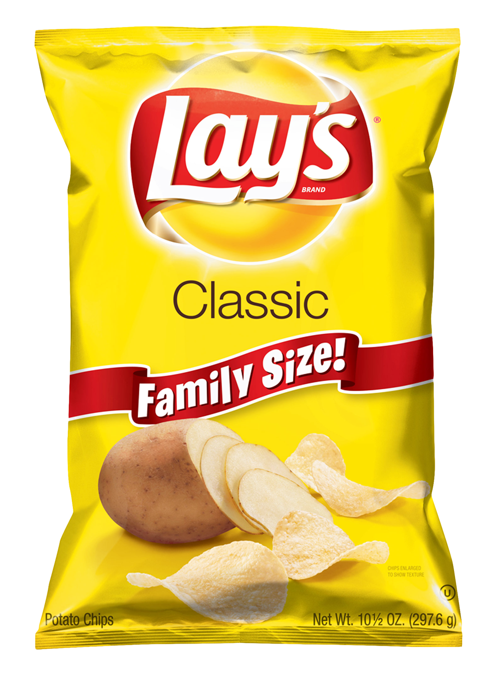 Lays Potato Chips PNG Image.