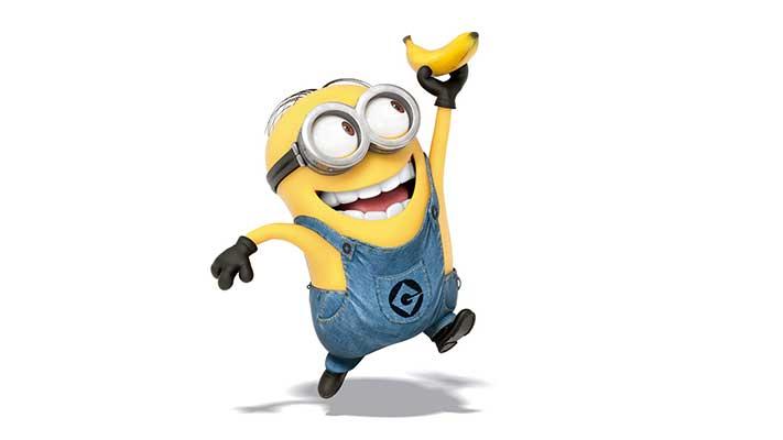 Minions banana clipart hd.
